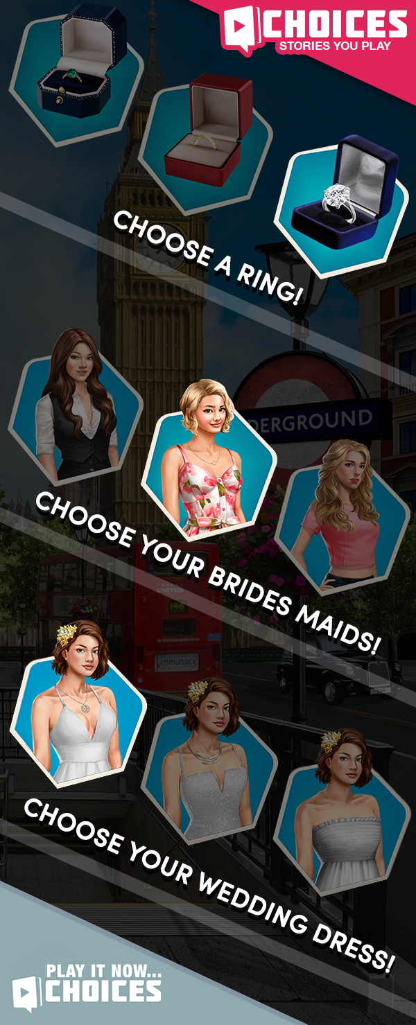 "Play now and make YOUR Choice! ""I'M IN LOVE WITH THIS GAME"