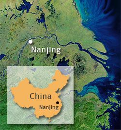 Nanjing on map Places Ive been Pinterest Nanjing