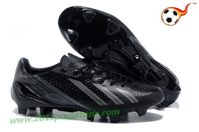 b7281c932 adidas adizero F50 Metallic TRX FG Leather - Black Gray