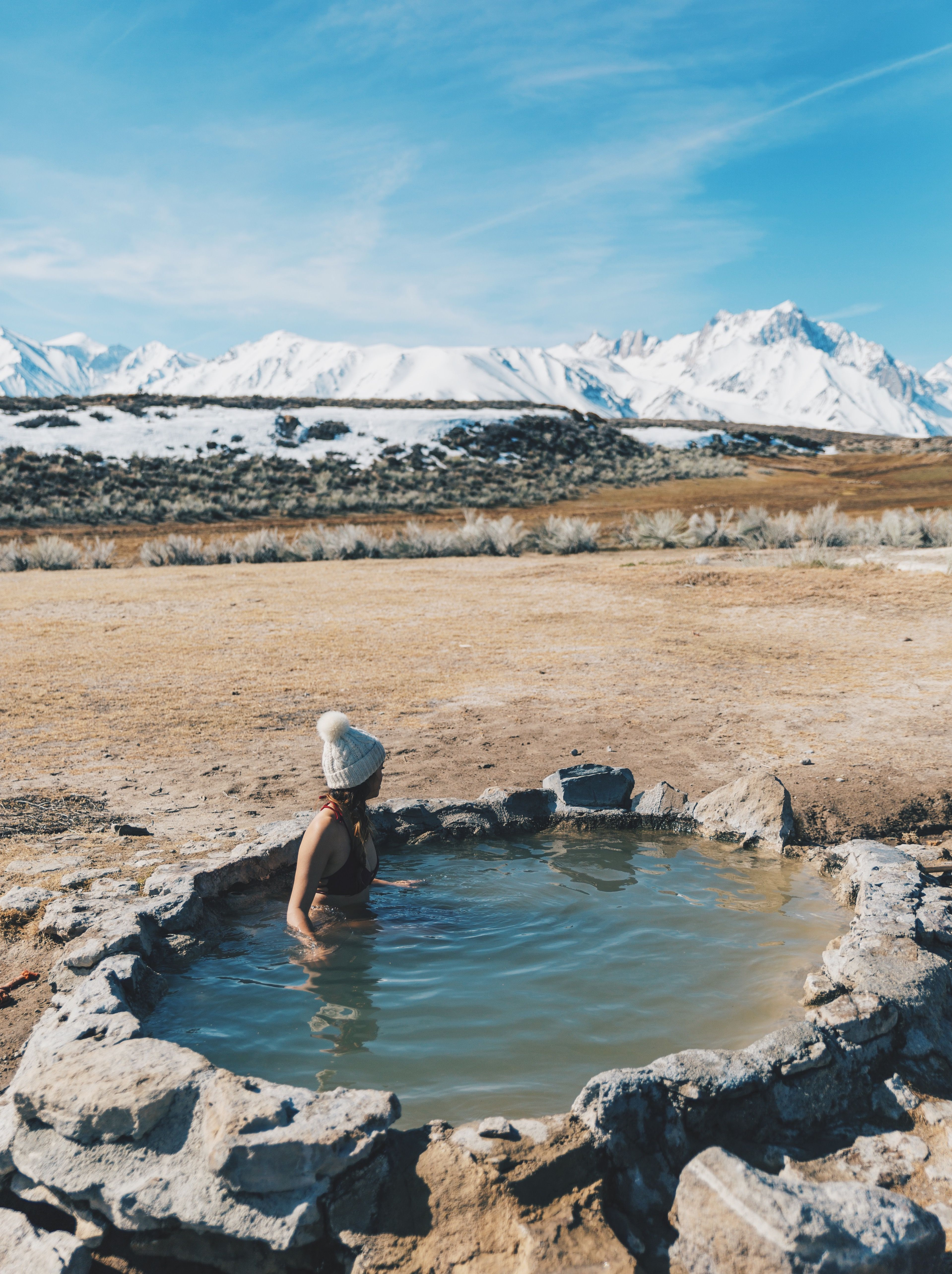 Finding Hot Springs In The Eastern Sierra Mountains
