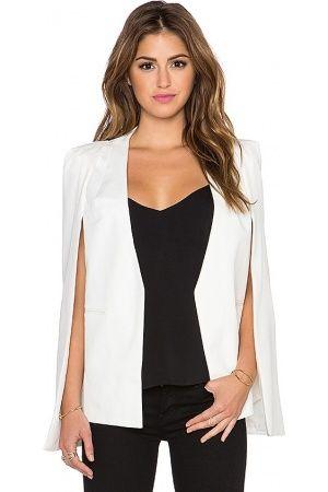 Veste cape cape   Best style   Blazer, Jackets, Fashion af1c6e723dc1