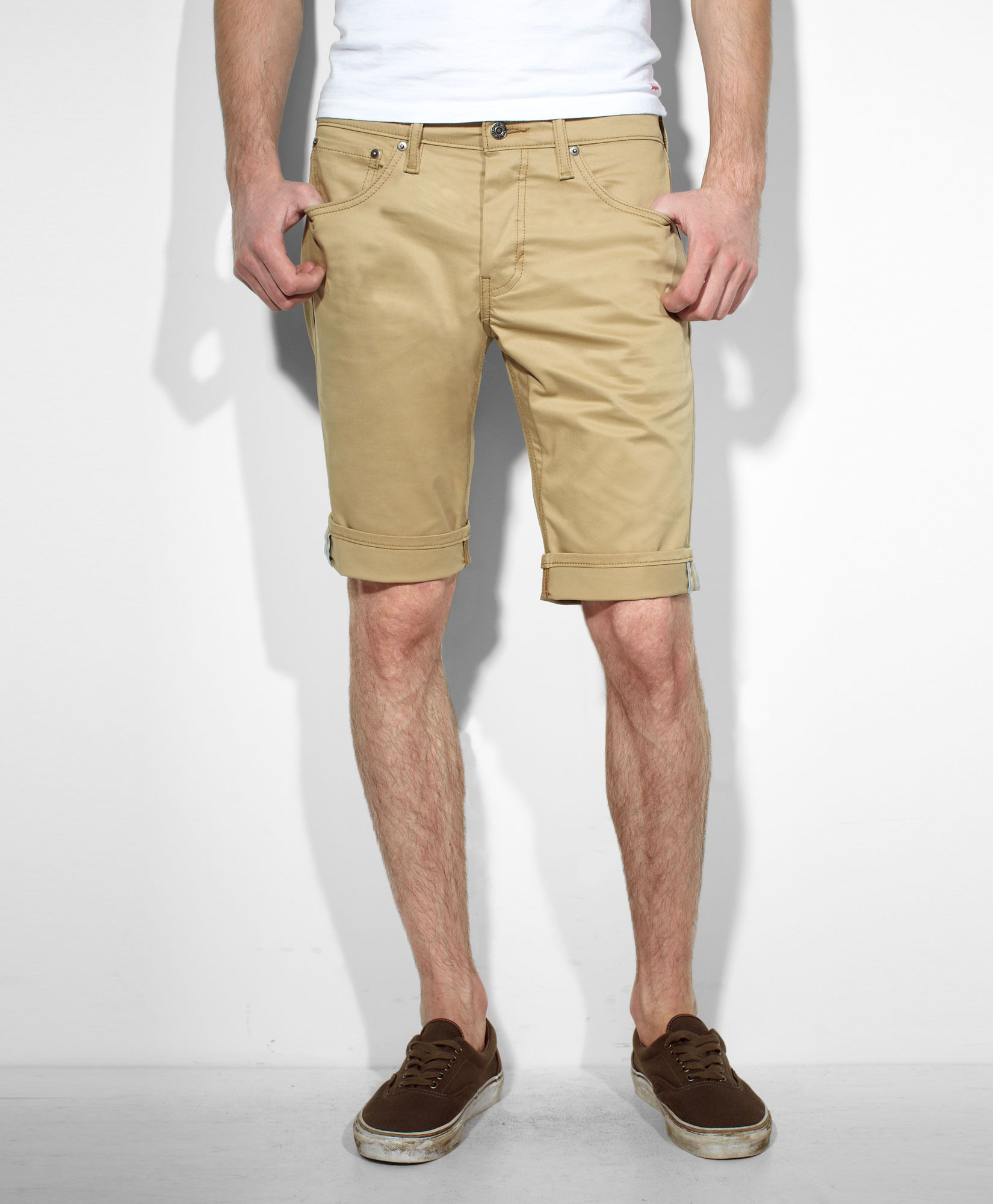 dab67ee1864 Levis 511™ Slim Fit Commuter Shorts - Coastal Gold - Shorts | Style ...