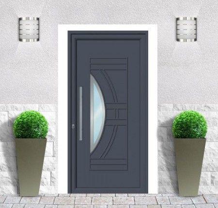 emalu porte barcelone gamme de portes dentre en aluminium triple joint - Porte D Entree Double