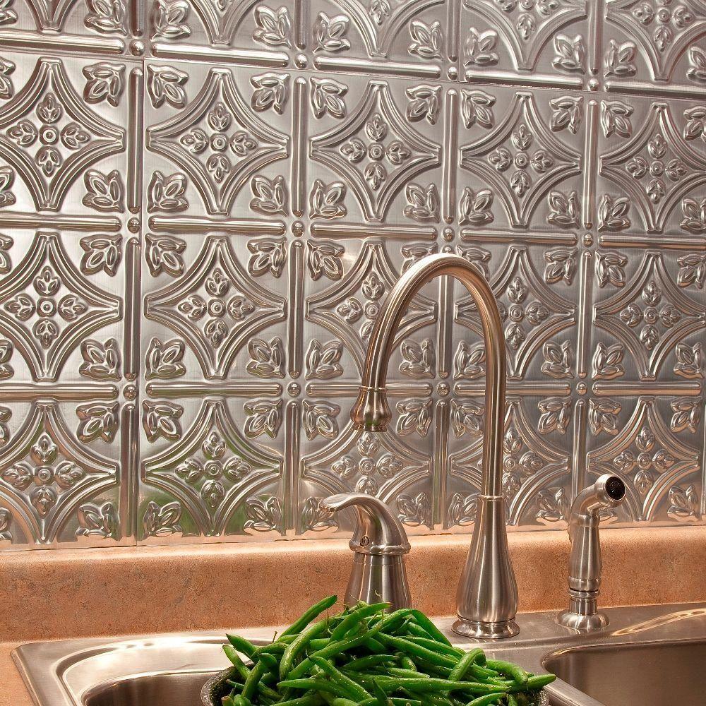 Decorative Backsplash Tile Captivating Fasade 24 Inx 18 Intraditional 1 Pvc Decorative Backsplash Design Ideas