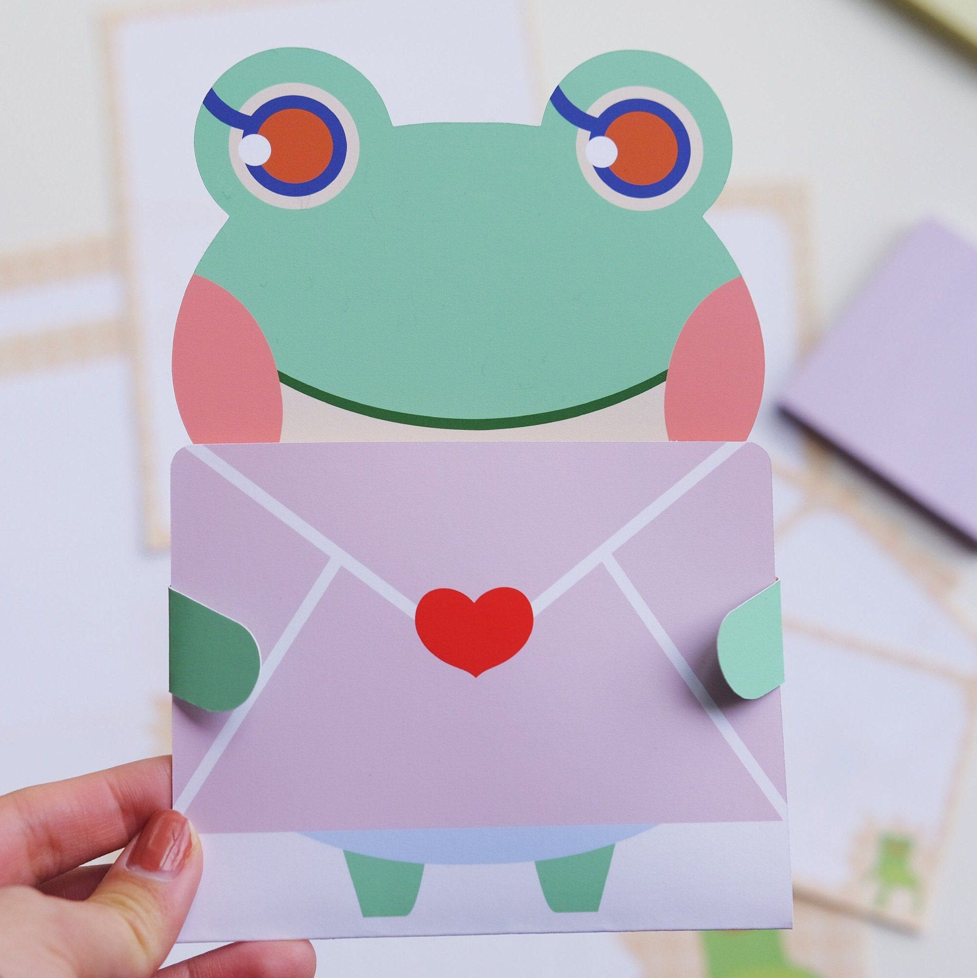 Animal Crossing Lily Card in 2020 Animal crossing, Etsy