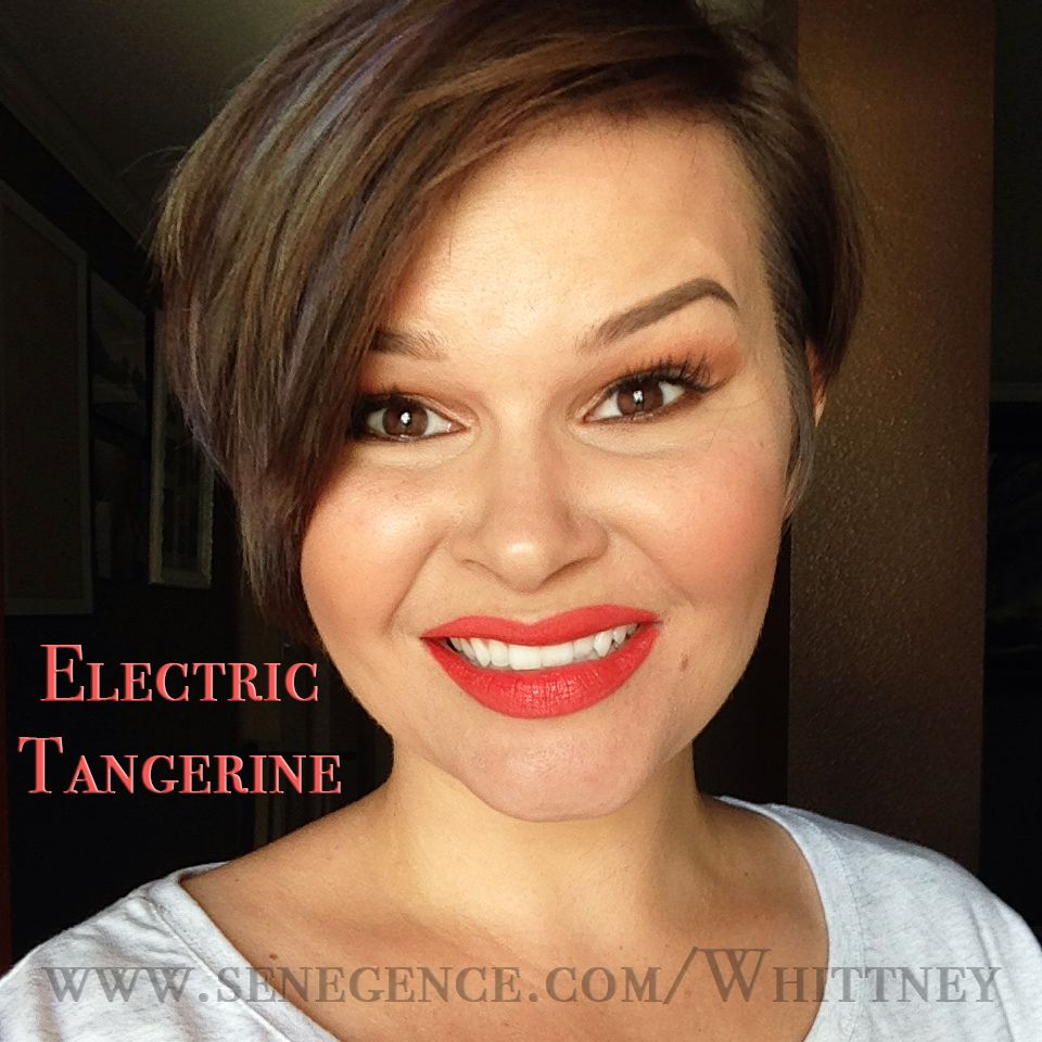 2019 year style- How to neon wear orange lipstick