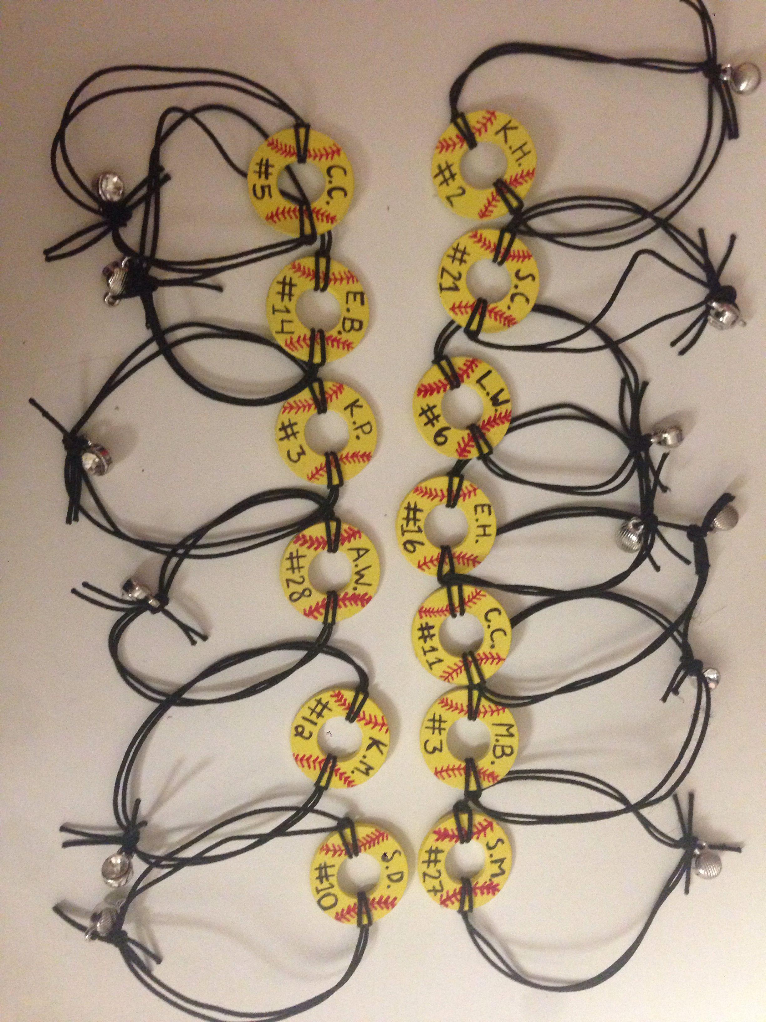 Diy Softball Bracelets