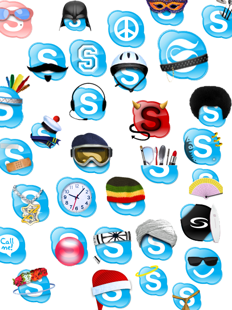variant skype logos    found objects