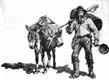 donkey and miner graphic art Yahoo Image Search Results clip