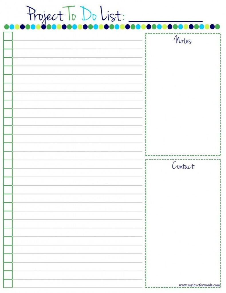 photograph regarding Free to Do List Printables referred to as Undertaking In the direction of Do Listing: Free of charge Printable! House Afford Binder