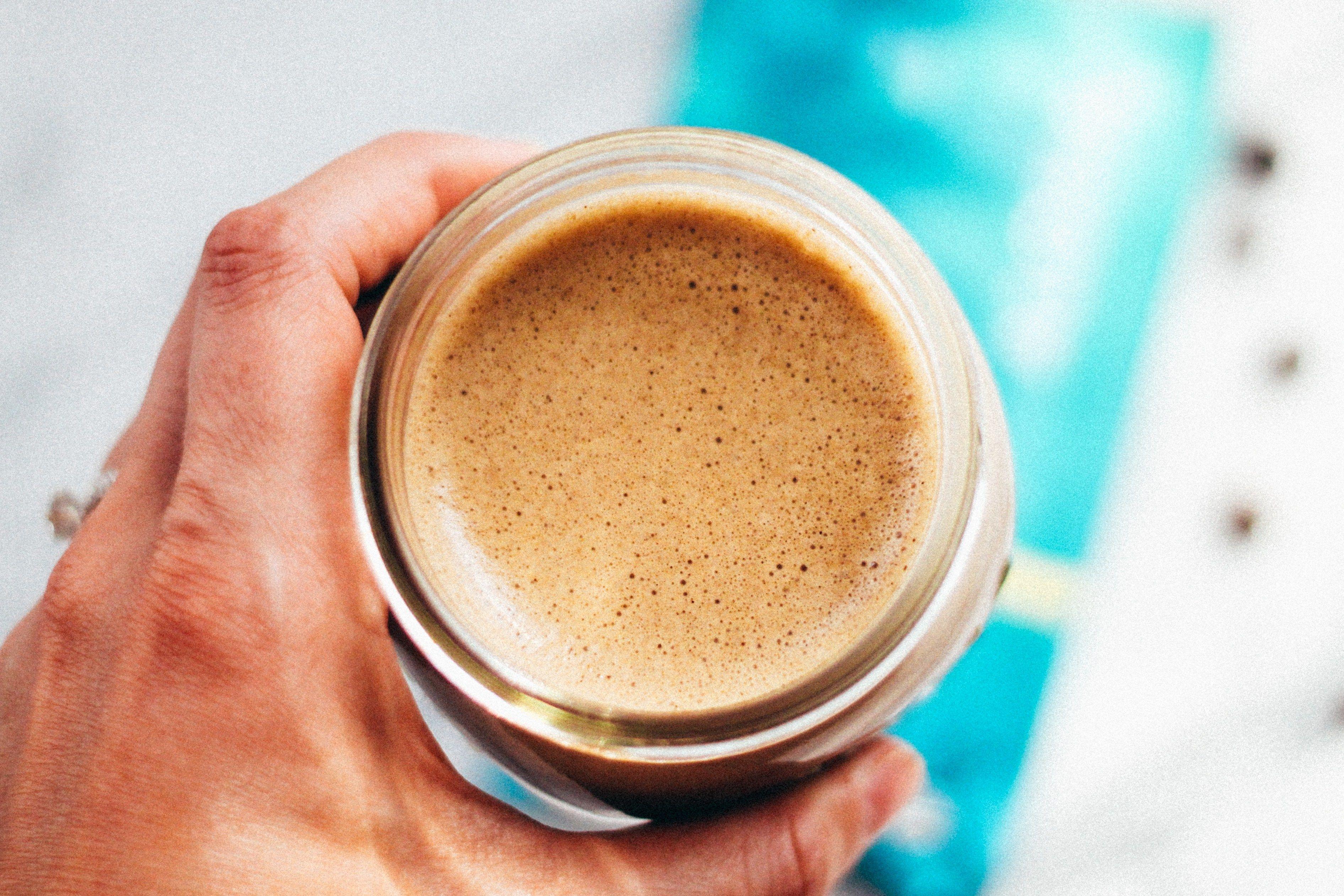 Bulletproof Coffee Protein Latte Recipe Bulletproof Coffee Latte Clean Eating Breakfast