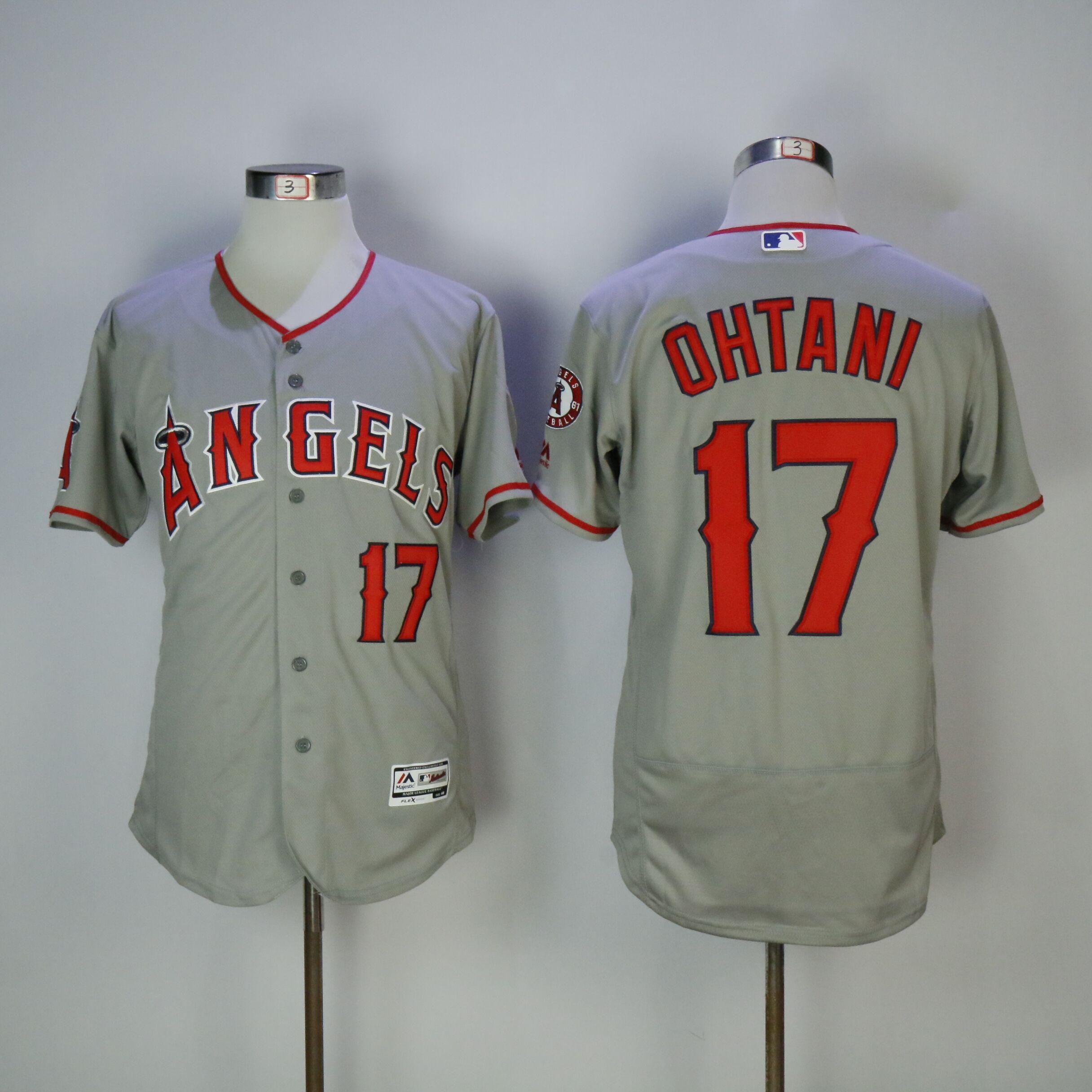 MLB Men s Los Angeles Angels Shohei Ohtani Baseball Gray Flex Base Player -  US  27.59 6031deb05