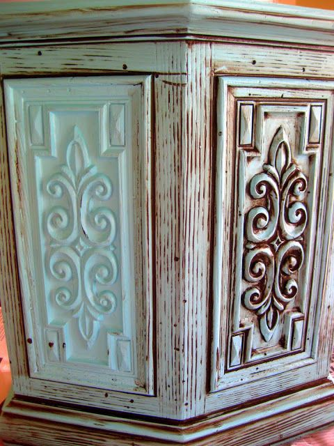 DIY Glazing and Antiquing Furniture Tutorial! {You're WELCOME!} - Reality  Daydream - DIY Glazing And Antiquing Furniture Tutorial Funky Painted
