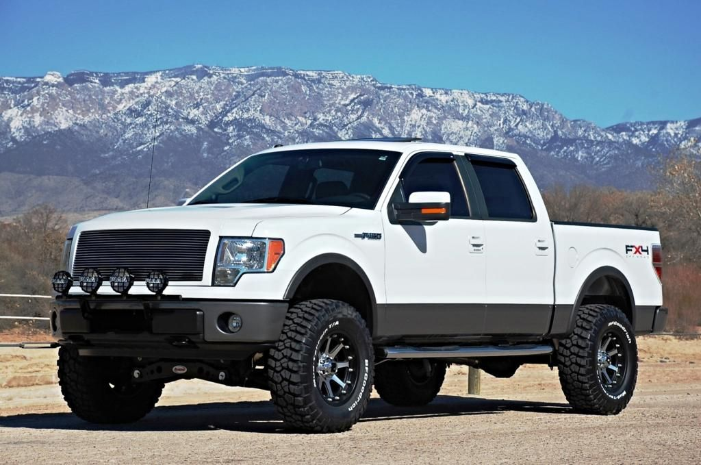 Desert Dawg S Custom 2009 Ford F150 Supercrew Fx4 Lifted 4 Inch Rancho Suspension