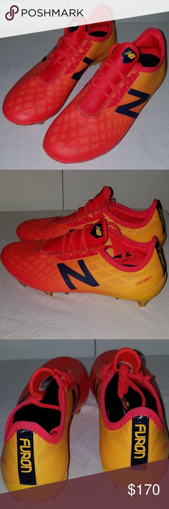 New Balance Furon 4 0 Pro Fg Soccer Cleats 6 5 Baseball Shoes Baseball Cleats New Balance Shoes