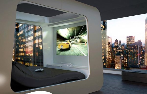 Hi Tech Luxury Bed Futuristic Bed House Design Cool Beds