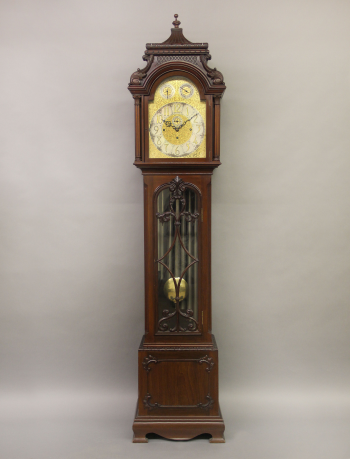 A Fine Late 19th Century English Carved Nine Tube Longcase Grandfather Clock Charles Cheriff Galleries Grandfather Clock Vintage Clock Clock