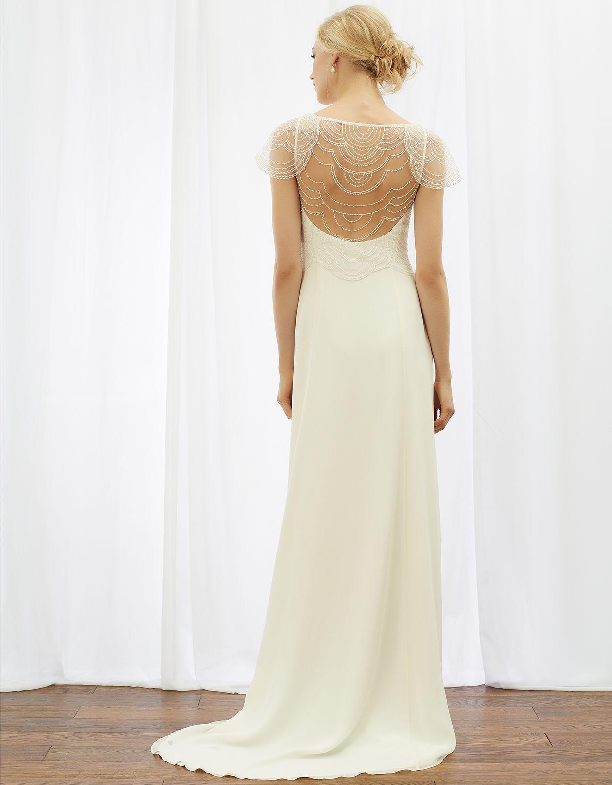 Marianne Bridal Dress Ivory Monsoon Sheer wedding