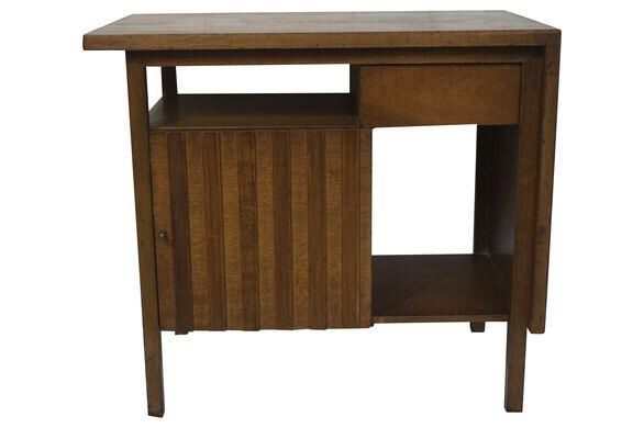 Widdicomb Fluted End Table or Nightstand on Chairish.com