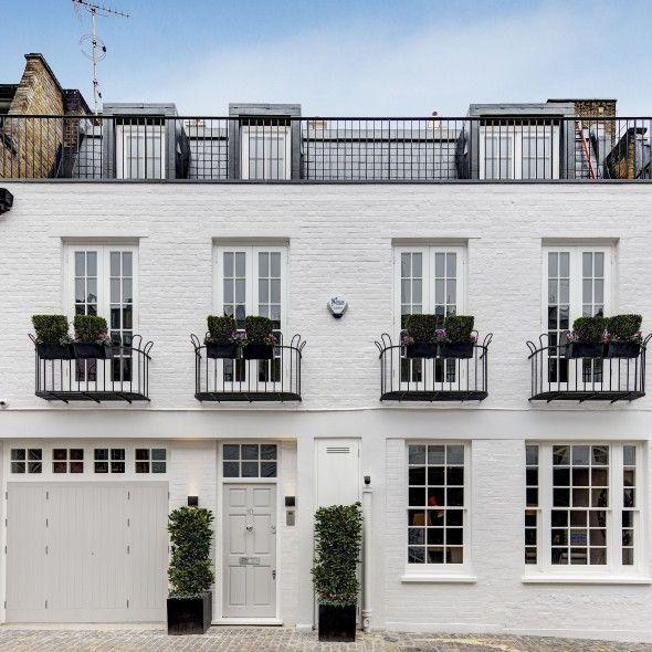 London Apartments Exterior: Property Of The Day: Ennismore Mews, Knightsbridge