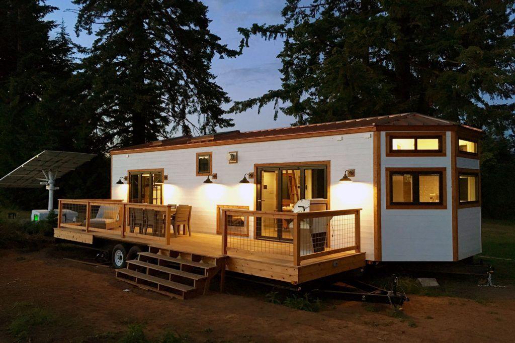 Elegant TINY HOME IN HAWAII | Tiny Heirloom Luxury Custom Built Tiny Homes