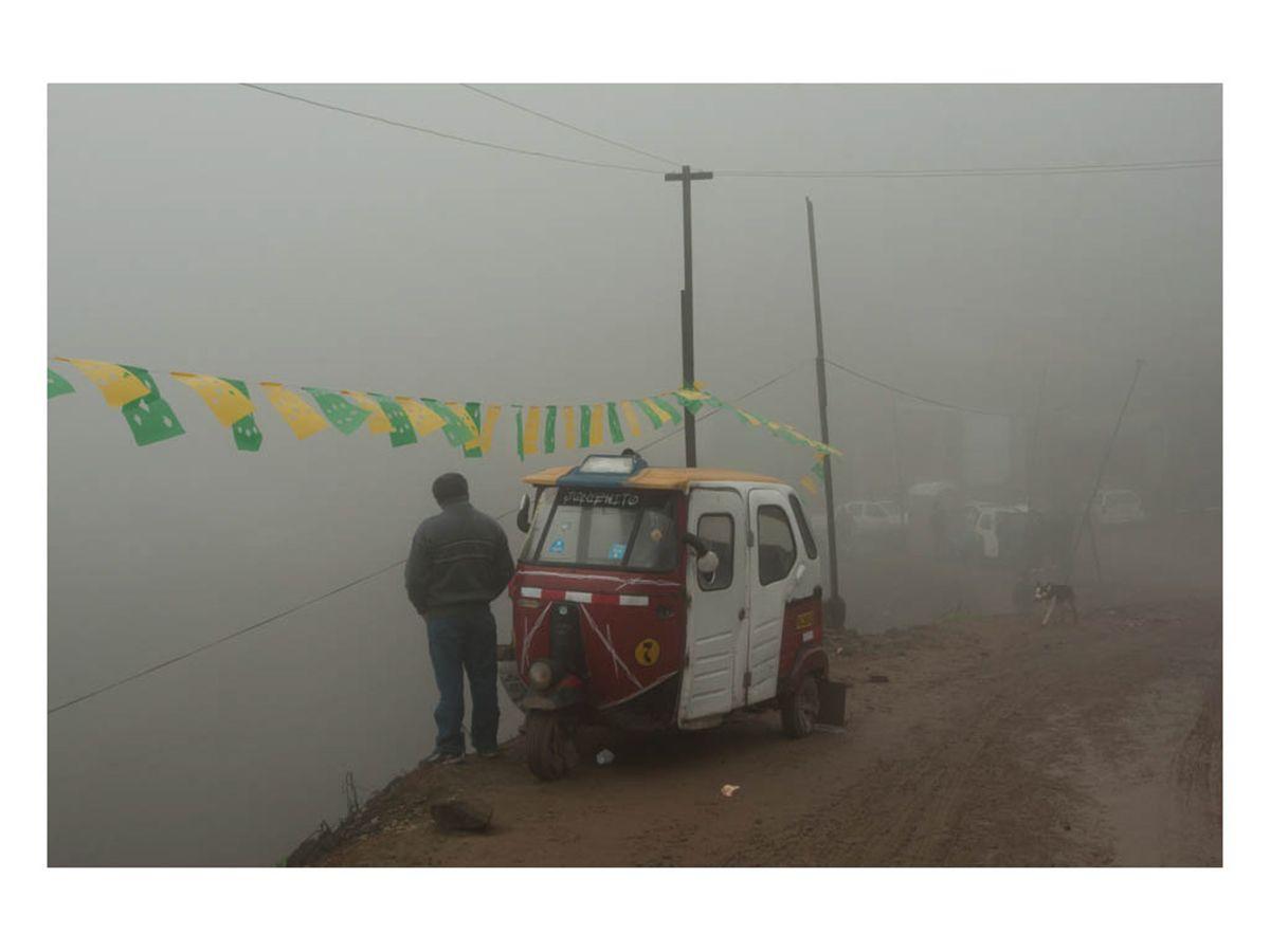 El fotógrafo peruano presenta su série