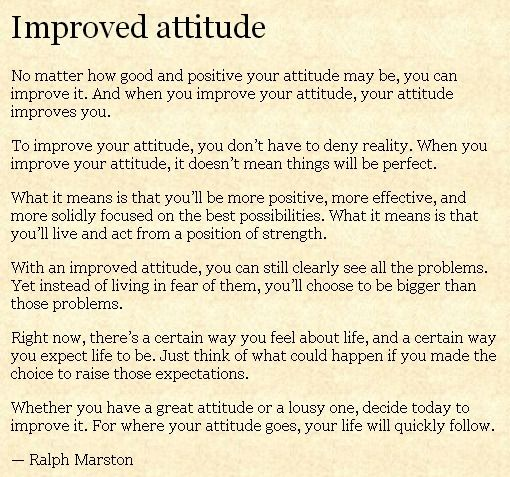 The Daily Motivator Improved Attitude Reminder Quotes Inspirational Quotes Motivation
