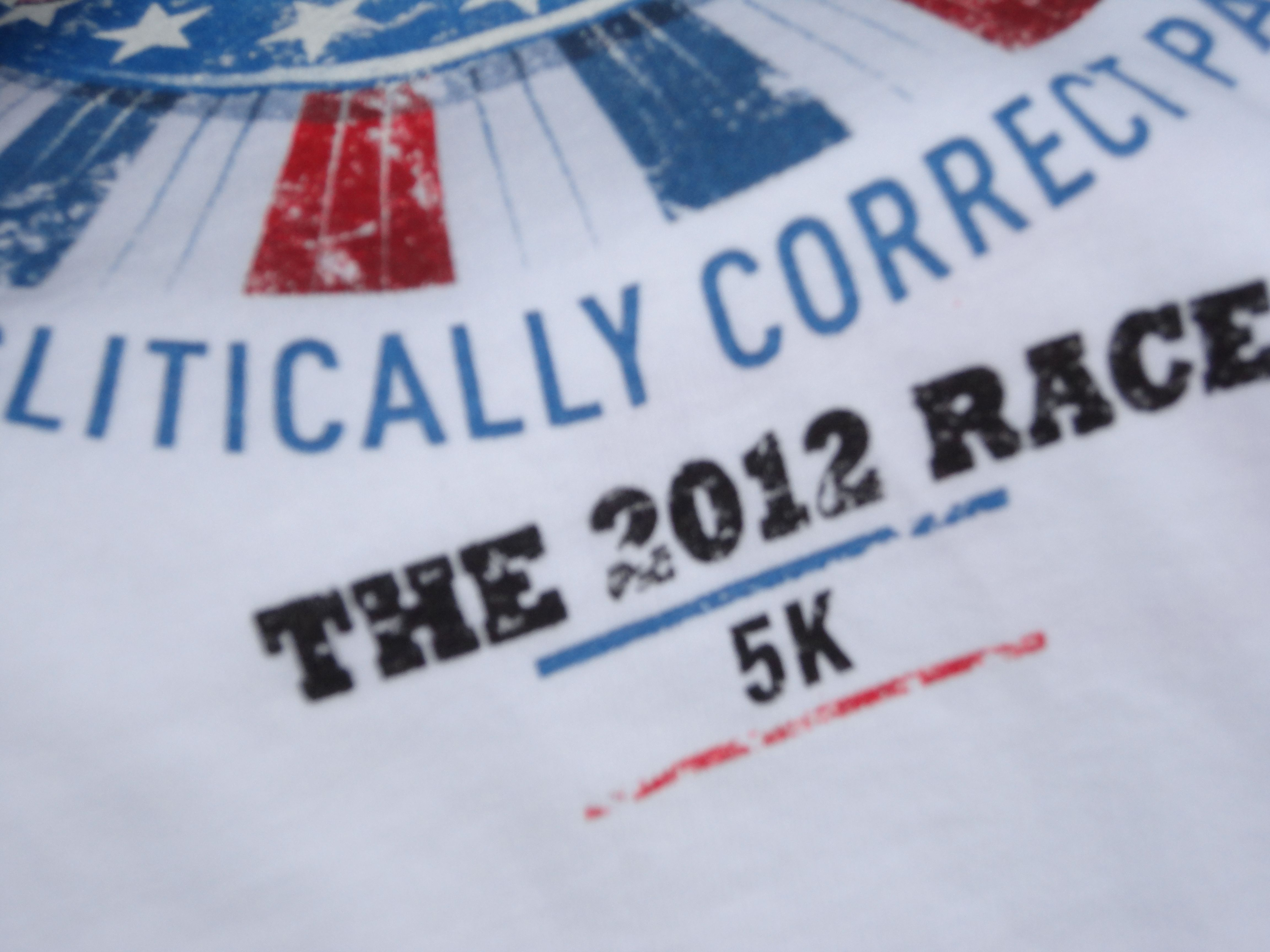 The accidental photo of the 2012 pig   t-shirt...hahaha