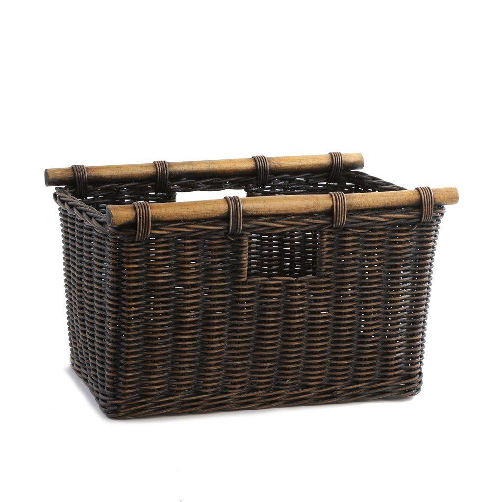 Tall Narrow Wicker Storage Basket Wicker Baskets Storage Storage Baskets Wicker