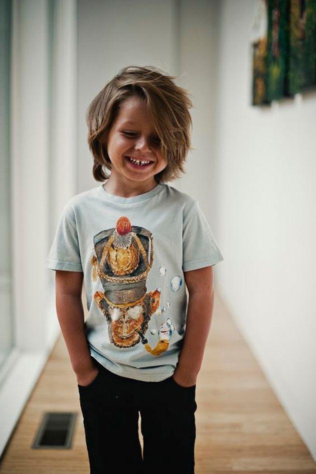 20 coiffures super stylées pour votre petit boy ! - Trend Zone   Coupe cheveux mi long garcon ...