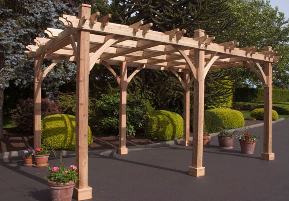 10 X 16 6 Post Breeze Pergola Outdoor Pergola Wood Pergola Pergola