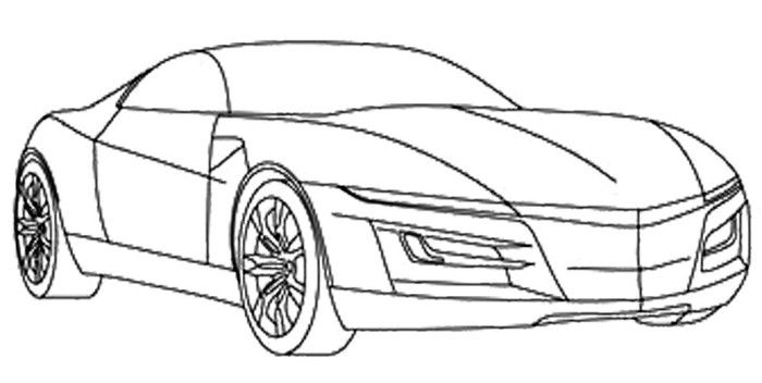 Acura Ilx Coloring Page Coloring Pages Color Audi R8