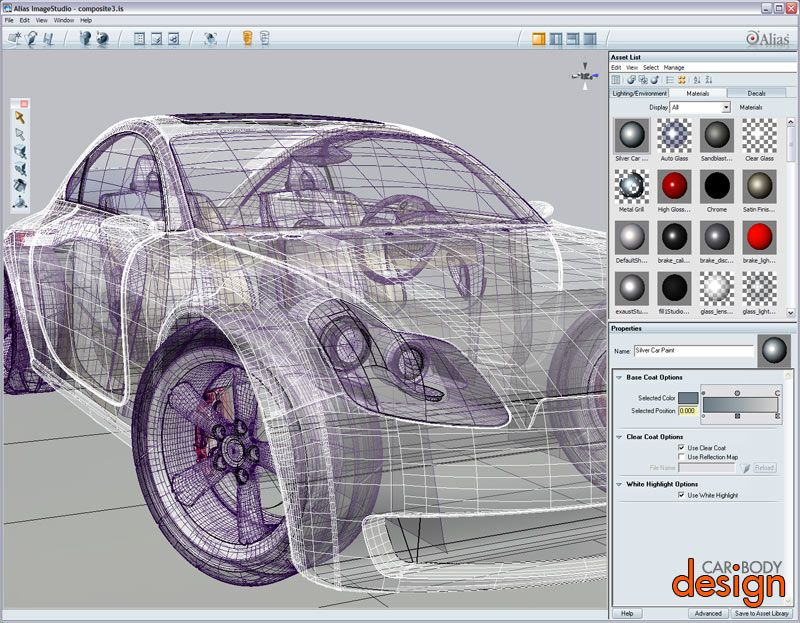 auto drawings | ... in Car Design - Part 1: Digital drawings and ...