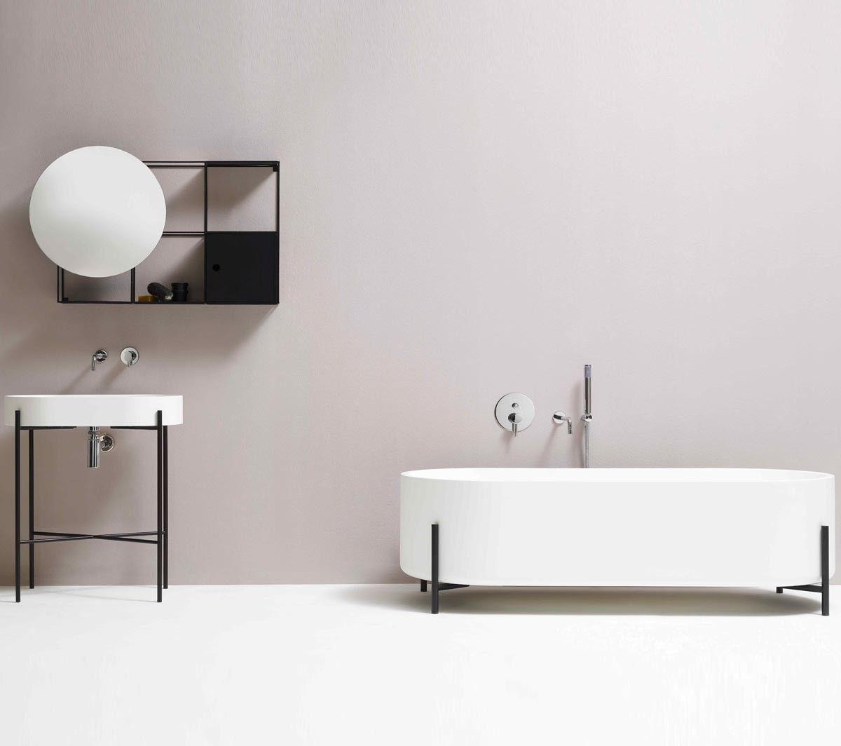 Console da bagno Stand di Ex.t in stile contemporaneo - TaniniHome ...