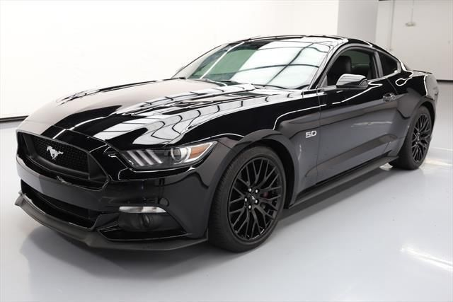 Awesome 2016 Ford Mustang 2016 FORD MUSTANG GT PREM 5.0 6SPD LEATHER REAR CAM 13K #208675 Texas Direct 2017 2018