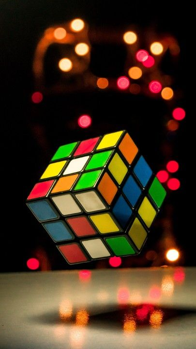 The latest iPhone11, iPhone11 Pro, iPhone 11 Pro Max mobile phone HD wallpapers free download, rubiks cube, cube, colorful, glare, lights - Free Wallpaper | Download Free Wallpapers
