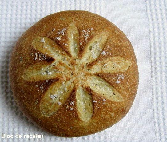 Bloc de recetas: Vamos a hacer pan! nº5 Panmarino
