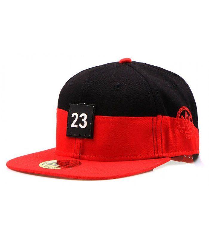 1b1dd70f7 Pánska čierno-červená šiltovka Snapback | Pánske šiltovky