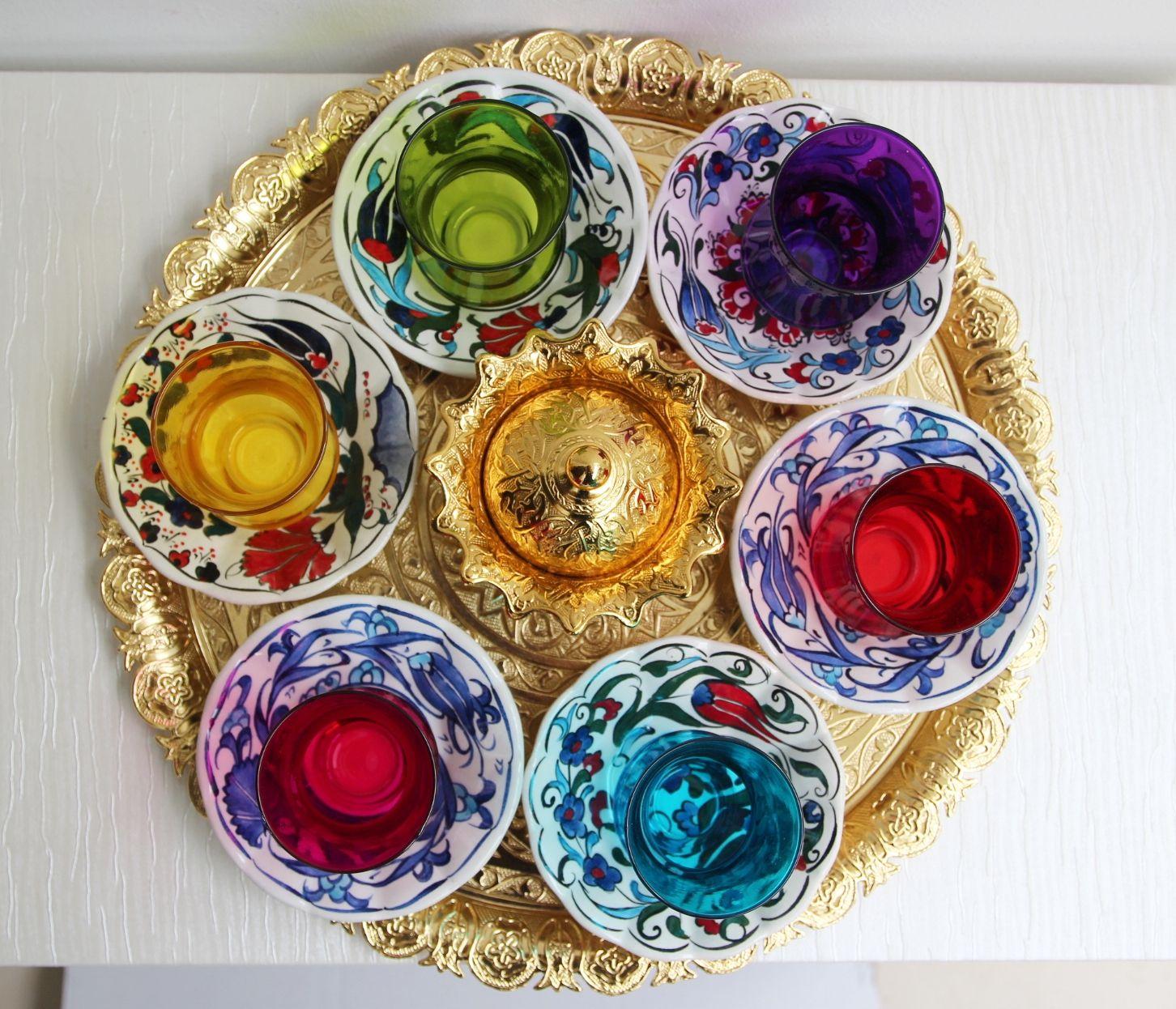 Calm Sale Turkish Tea Set Online Colorful Turkish Tea Set By Bazaar Turkish Tea Set Colorful Turkish Tea Set By Bazaar Turkish Teaset