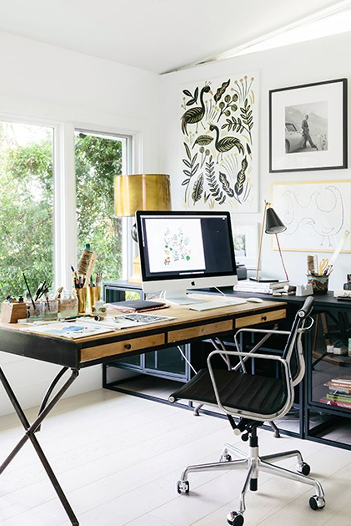 25+ Small Home Office Ideas For Men & Women (Space Saving