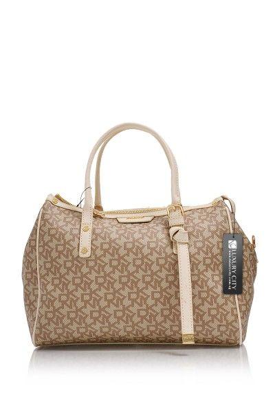 Dkny Donna Karan Cream Handbag Handbags