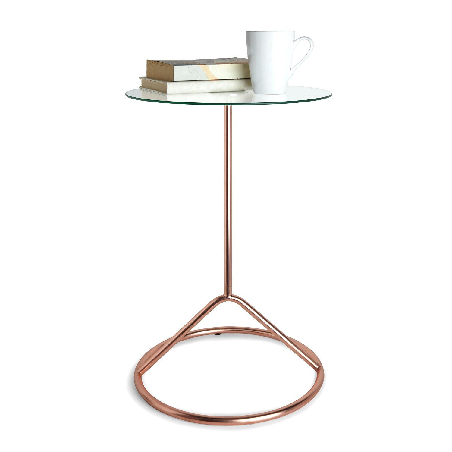 Amazon.com: Umbra Loop Side Table, Copper: Home & Kitchen | Curio ...