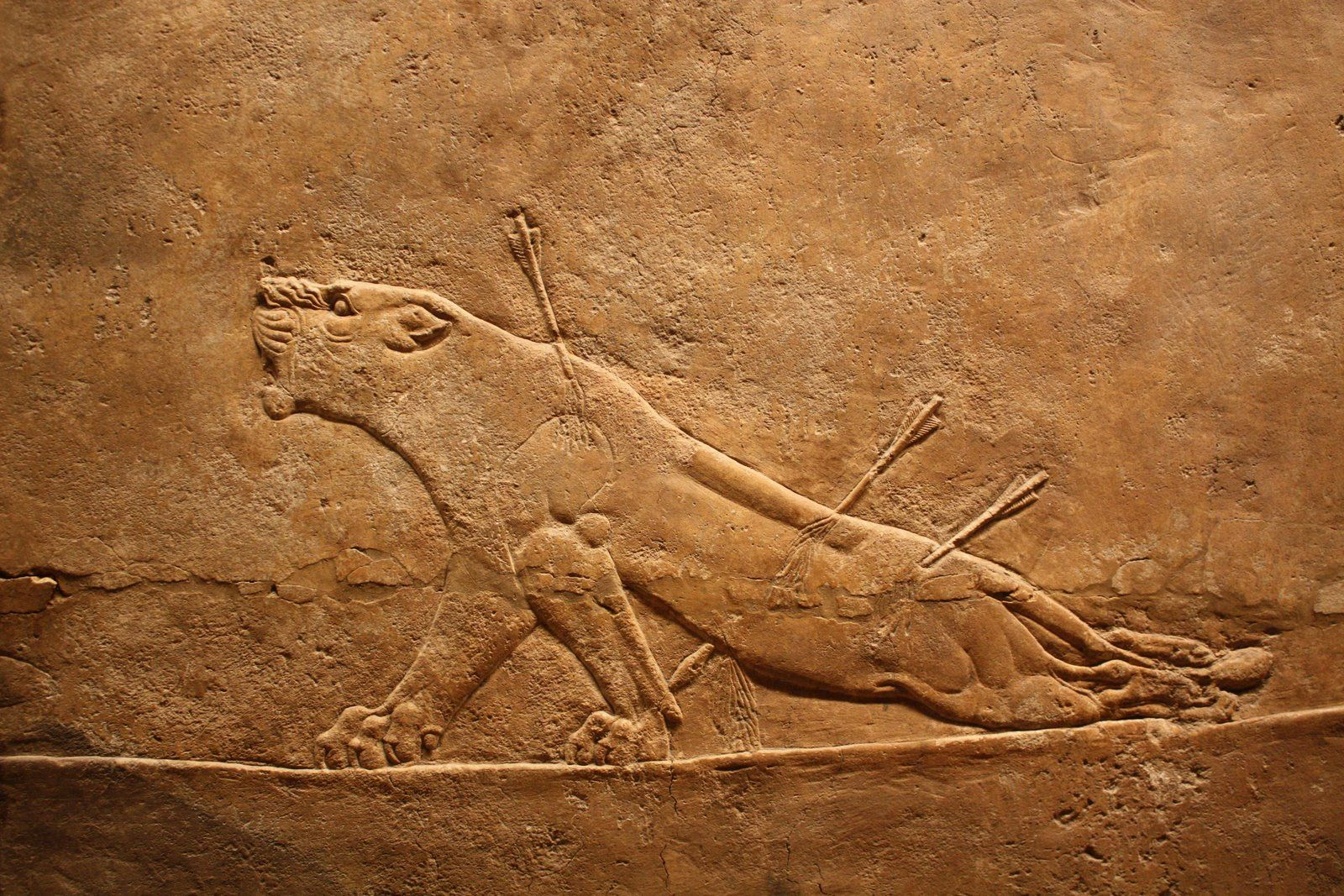 Elamite Standing antrhopoid lioness, ca 3000–2800 BCE aka ... |Wounded Lioness Mesopotamia Ancient Art