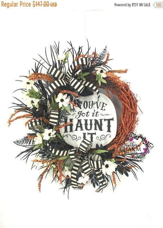If You\u0027ve Got It Haunt It Wreath, Halloween Wreaths for Front Door