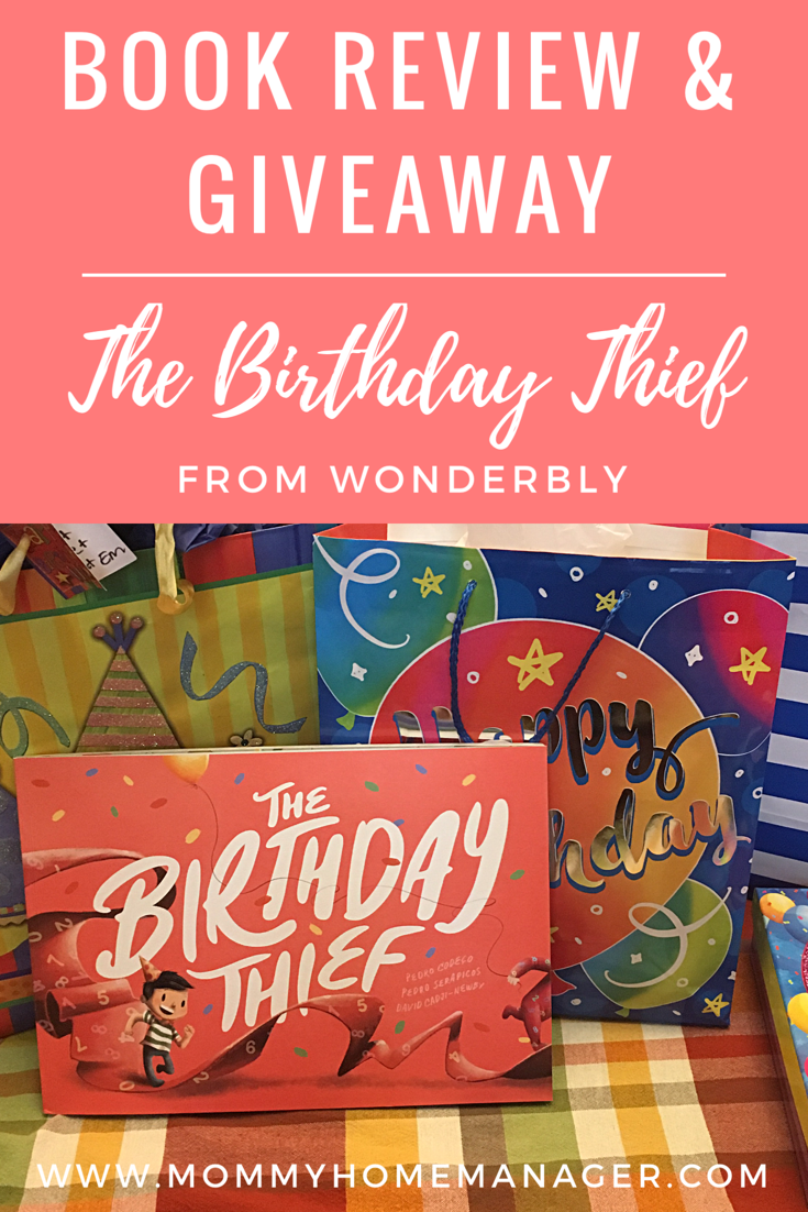 5d43710150a The Birthday Thief is the perfect birthday gift for a baby or kid of any age