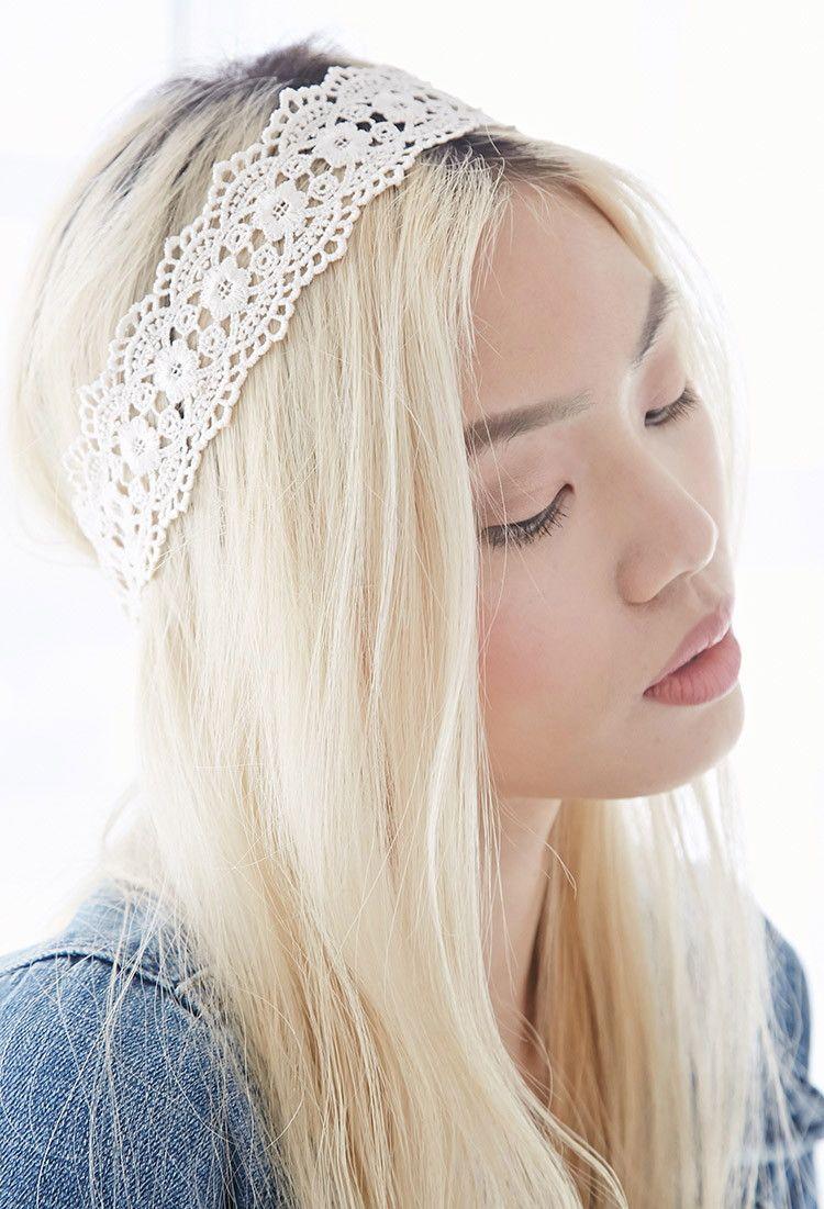 Scalloped Crochet Headwrap | Forever 21 - 1000115047