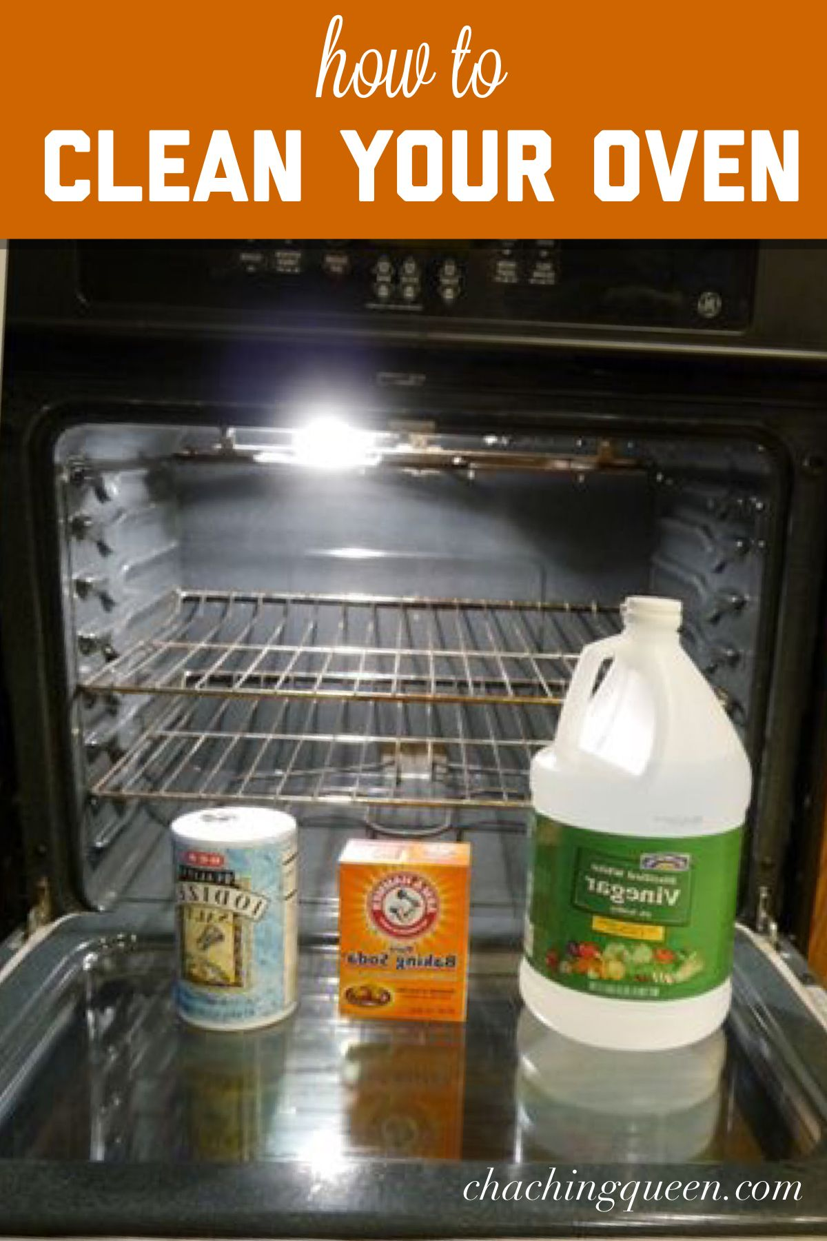 How To Clean Your Oven With Vinegar And Baking Soda For Green