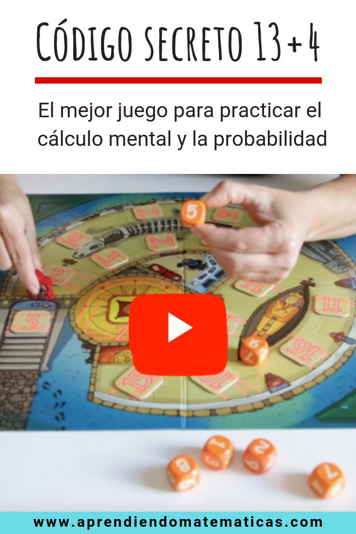 El Código Secreto 13 4 Es Un Juego Ideal Para Que Niños De Primaria Practiquen El Cálc Juegos Matematicos Para Niños Juegos De Divisiones Juegos De Matemáticas
