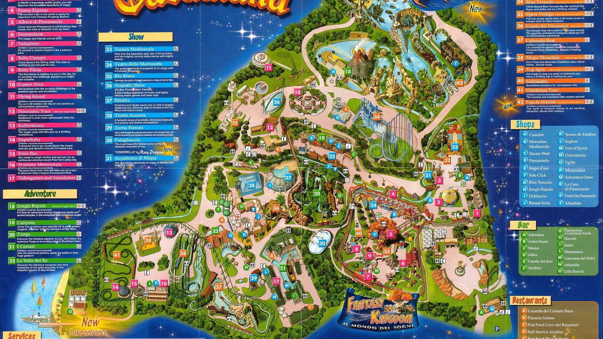 Gardaland is an amusement park located in North-Eastern ...