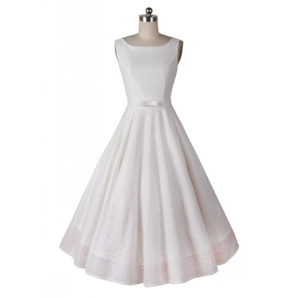 Audrey Hepburn vintage O-neck sleeveless dark pattern big swing dress women casual party 50s 60s dresses robe vestidos de fiesta